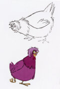 Animation Art:Color Model, The Sword and the Stone Color Model/Inkers Test Cels Group of 5 (Walt Disney, 1963).... (Total: 5 )
