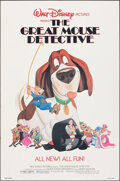 """Movie Posters:Animation, The Great Mouse Detective & Other Lot (Buena Vista, 1986). Folded, Very Fine. One Sheets (2) (27"""" X 41"""") SS. Animation.. ... (Total: 2 Items)"""