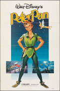 "Movie Posters:Animation, Peter Pan & Other Lot (Buena Vista, R-1982). Folded, Fine+. One Sheets (2) (27"" X 41""). Animation.. ... (Total: 2 Items)"