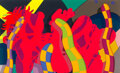 Prints & Multiples, KAWS (b. 1974). Lost Time, 2018. Screenprint in colors on wove paper. 32 x 53-1/4 inches (81.3 x 135.3 cm) (sheet). Ed. ...