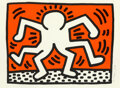 Prints & Multiples, Keith Haring (1958-1990). Double Man, from Portfolio of 5 Artists in Support of Bill T. Jones/Arnie Zane & Company, ...