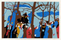 Prints & Multiples, Jacob Lawrence (1917-2000). The Swearing In, 1977. Screenprint in colors on cream wove paper. 19-7/8 x 29-7/8 inches (50...