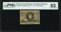 Fractional Currency:Second Issue, Fr. 1322 50¢ Second Issue PMG Choice Uncirculated 63.. ...