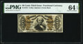 Fractional Currency:Third Issue, Fr. 1331 50¢ Third Issue Spinner PMG Choice Uncirculated 64 EPQ.. ...