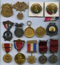 Nice Collection of Medals, Badges, and Political Buttons