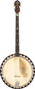 Musical Instruments:Banjos, Mandolins, & Ukes, 1926 Vega Professional Shaded Banjo, Serial #76456.. ...