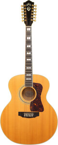 Musical Instruments:Acoustic Guitars, 1996 Guild JF65-12 Natural 12 String Acoustic Guitar, Serial #JF690256.. ...