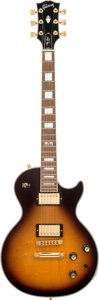 Musical Instruments:Electric Guitars, 2014 Gibson Les Paul Custom Sunburst Solid Body Electric Guitar, Serial #140104015.. ...