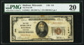 National Bank Notes:Wisconsin, Madison, WI - $20 1929 Ty. 1 The First National Bank Ch. # 144 PMG Very Fine 20.. ...