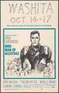 "Movie Posters:Drama, Birdman of Alcatraz (United Artists, 1962). Very Fine-. Window Card (14"" X 22"") Bob Peak Artwork. Drama.. ..."