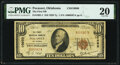 National Bank Notes:Oklahoma, Pocasset, OK - $10 1929 Ty. 1 The First National Bank Ch. # 10960 PMG Very Fine 20.. ...