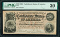 Confederate Notes:1864 Issues, T64 $500 1864 PF-2 Cr. 489 PMG Very Fine 30.. ...