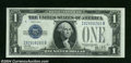 Error Notes:Skewed Reverse Printing, 1928B $1 Silver Certificate, Fr-1602, Gem Crisp Uncirculated. ...
