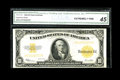 Large Size:Gold Certificates, Fr. 1173 $10 1922 Gold Certificate CGA Extremely Fine 45....