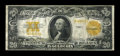Large Size:Gold Certificates, Fr. 1187 $20 1922 Gold Certificate Star Note Fine....