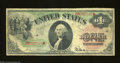 Fr. 18 $1 1869 Legal Tender Note Fine. Despite its age of 135 years, this Rainbow Ace is solid for the grade with its li...