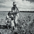 Photographs, Marion Post Wolcott (American, 1910-1990). Taking a Drink and Resting from Hoeing Cotton, Allen Plantation, a FSA Project,...