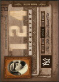 "Baseball Cards:Singles (1970-Now), 2005 Playoff Biography ""124"" Babe Ruth Bat Relic Card. ..."