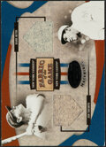 Baseball Cards:Singles (1970-Now), 2005 Leaf Certified Materials Fabric Of The Game Babe Ruth/Jim Thorpe Jersey/Pants Relic Card #FG-161 - Serial Numbered 15/25...