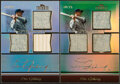 Baseball Cards:Lots, 2011 Topps Tribute Lou Gehrig Jersey And Bat Relic Card Pair (2).... (Total: 2 items)