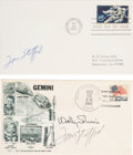 Explorers:Space Exploration, Gemini 6A Crew-Signed Launch Cover, and Tom Stafford Signe...