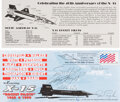 Explorers:Space Exploration, X-15: 40th Anniversary Cover Signed by Five X-15 Pilots.