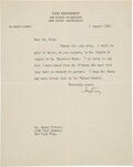 Autographs:Inventors, Harvey Cushing Typed Letter Signed ...