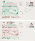 Explorers:Space Exploration, NASA M2-F3 Lifting Body: Two Flight Covers Signed by NASA ...