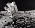 Explorers:Space Exploration, Edgar Mitchell Signed, with Long Annotation, Apollo 14 Lun...