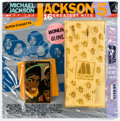 Memorabilia:Miscellaneous, Michael Jackson and the Jackson 5 16 Greatest Hits Super Cassette and Glove Set Sealed (Motown, 1984)....