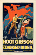 """Movie Posters:Western, The Danger Rider (Universal, 1928). Folded, Fine/Very Fine. One Sheet (27"""" X 41"""").. ..."""