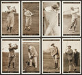 Golf Cards:General, 1927 W.A. & A.C. Churchman Famous Golfers Complete Set (50). ...