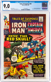 Tales of Suspense #65 (Marvel, 1965) CGC VF/NM 9.0 White pages