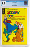 Bronze Age (1970-1979):Cartoon Character, Scooby Doo #3 (Gold Key, 1970) CGC NM/MT 9.8 Off-white to white pages....