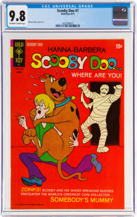 Scooby Doo #7 (Gold Key, 1971) CGC NM/MT 9.8 Off-white to white pages