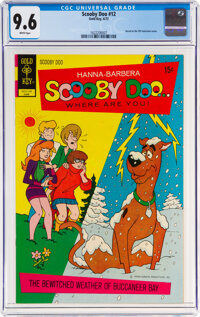 Scooby Doo #12 (Gold Key, 1972) CGC NM+ 9.6 White pages