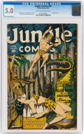 Golden Age (1938-1955):Adventure, Jungle Comics #54 (Fiction House, 1944) CGC VG/FN 5.0 Cream to off-white pages....