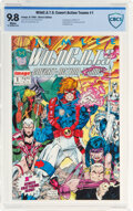 Modern Age (1980-Present):Superhero, WildC.A.T.s: Covert Action Teams #1 (Image, 1992) CBCS NM/MT 9.8 White pages....