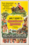 """Movie Posters:Adventure, Swiss Family Robinson & Other Lot (Buena Vista, 1960). Folded, Overall: Fine/Very Fine. One Sheets (2) (27"""" X 41"""") Style A, ... (Total: 2 Items)"""