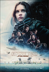 "Rogue One: A Star Wars Story (Walt Disney Studios, 2016). Rolled, Very Fine/Near Mint. One Sheet (27"" X 40"") D..."