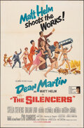 "Movie Posters:Action, The Silencers (Columbia, 1966). Folded, Fine-. One Sheet (27"" X 41"") Robert McGinnis Artwork. Action.. ..."
