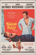 """Movie Posters:Drama, The Sound and the Fury & Other Lot (20th Century Fox, 1959). Folded, Fine. One Sheets (2) (27"""" X 41""""). Drama.. ... (Total: 2 Items)"""