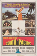 """Movie Posters:Musical, South Pacific (20th Century Fox, 1959). Folded, Fine+. One Sheet (27"""" X 41""""). Musical.. ..."""