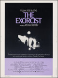 "Movie Posters:Horror, The Exorcist (Warner Bros., 1974). Rolled, Very Fine. Poster (30"" X 40""). Horror.. ..."