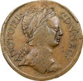 1785 CONNCT Connecticut, Roman Head, M. 2-A.1, W-2305, High R.5, AU50 NGC. 131.6 grains. This example from the Oechsner...