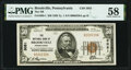 National Bank Notes:Pennsylvania, Brookville, PA - $50 1929 Ty. 1 The National Bank of Brookville Ch. # 3051 PMG Choice About Unc 58.. ...