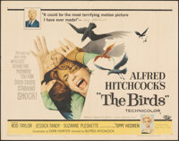 "The Birds (Universal, 1963). Folded, Fine+. Half Sheet (22"" X 28""). Hitchcock"