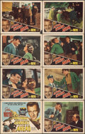 """Movie Posters:Action, California Straight Ahead (Realart, R-1948). Overall: Very Fine-. Lobby Card Set of 8 (11"""" X 14""""). Action.. ... (Total: 8 Items)"""