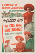 """Movie Posters:Western, The Girl from San Lorenzo (United Artists, 1950). Folded, Overall: Very Fine. One Sheet (27"""" X 41"""") & Lobby Card Set of 8 (1... (Total: 9 Items)"""