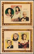 "Movie Posters:Academy Award Winners, Gone with the Wind (MGM, 1939). Fine. Roadshow Lobby Cards (2) (11"" X 14"") Original Release: Armando Seguso Artwork. Academy... (Total: 2 Items)"